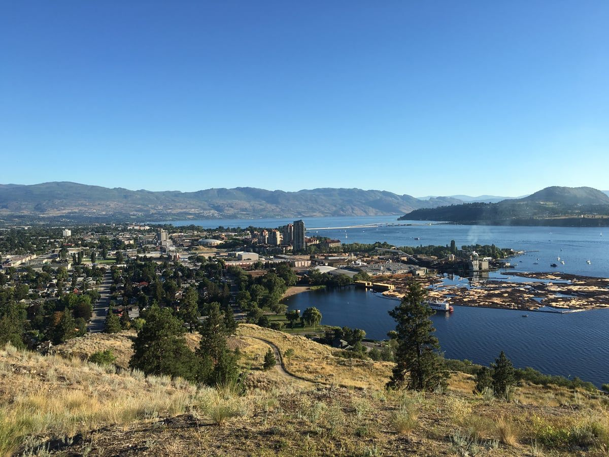 Knox Mountain Trail Network Trail Network Kelowna, BC