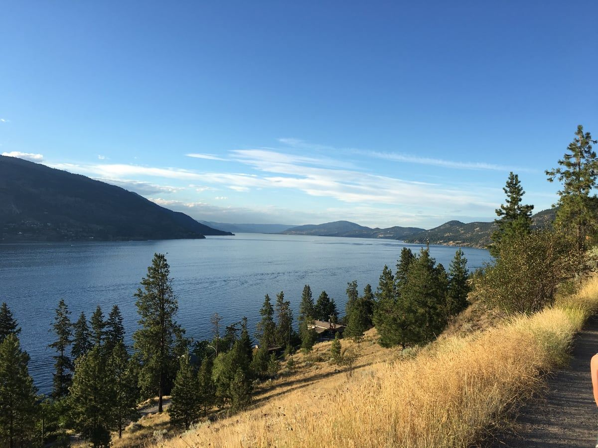 Apex Trail: Knox Mountain Hike Kelowna, BC